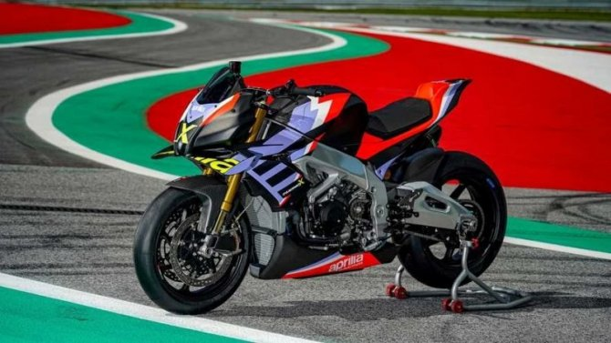 Представлен новый мотоцикл Aprilia Tuono V4 X