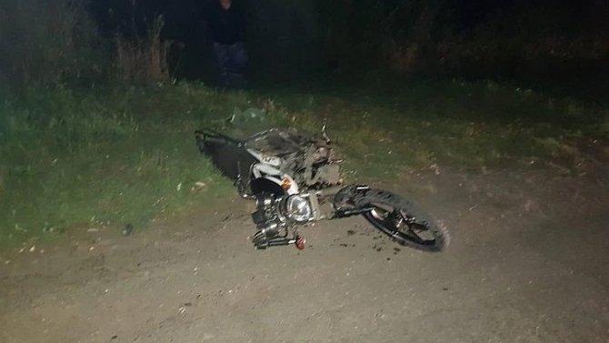 18-летняя девушка погибла в ДТП с мопедом в Рязанской области