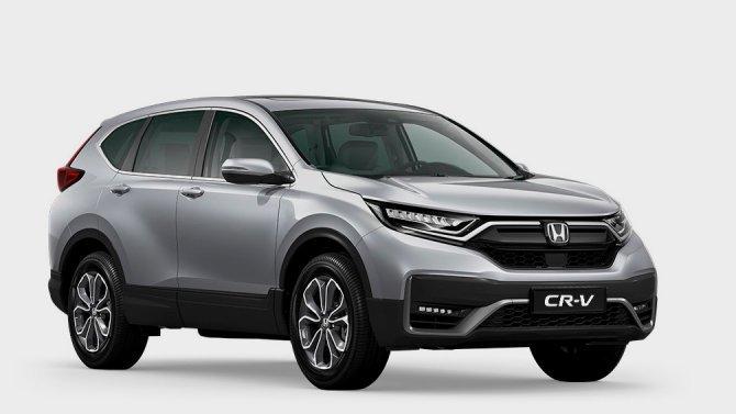 ВРоссии скоро появится обновлённый кроссовер Honda CR-V