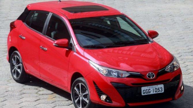В России запатентован обновлённый Toyota Yaris