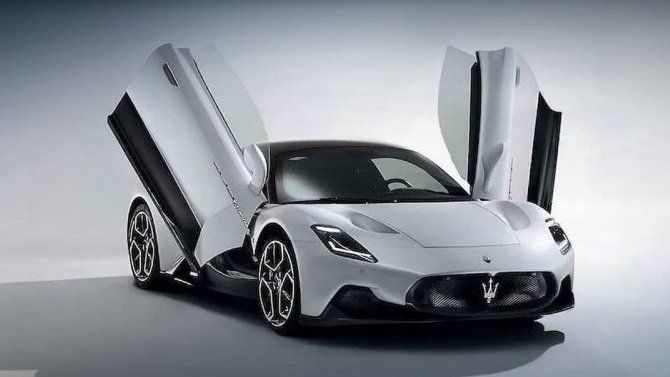 Представлен суперкар Maserati MC20