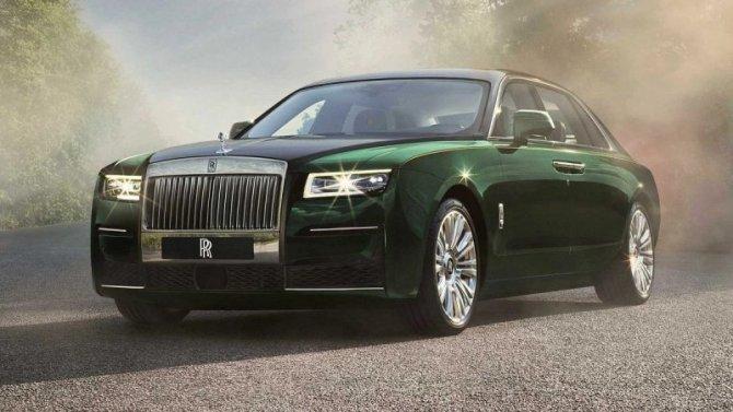 Rolls-Royce Ghost получил новую модификацию
