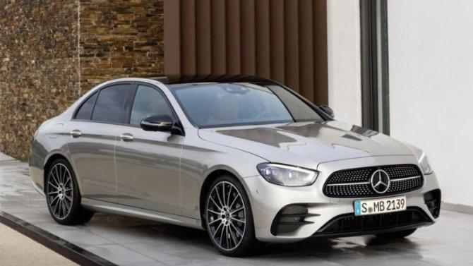 Обнародованы цены обновлённого семейства Mercedes-Benz E-Кlassе