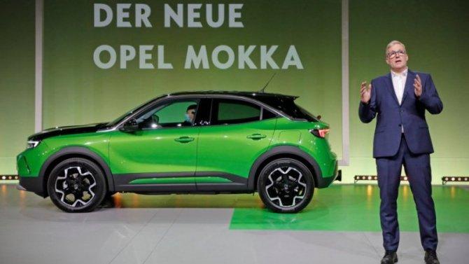 Представлен обновлённый Opel Mokka