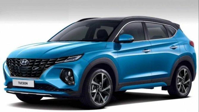 Обновлённый Hyundai Tucson: появились подробности