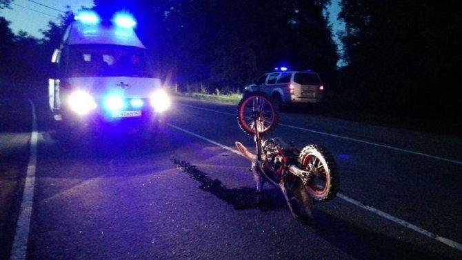 В ДТП во Всеволожском районе серьезно пострадал мотоциклист