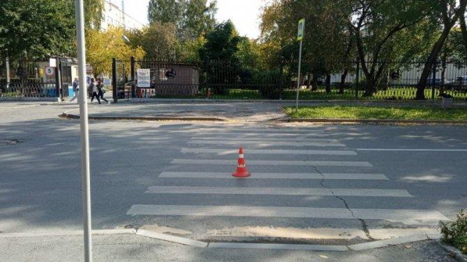 В Екатеринбурге разыскивают водителя, сбившего девочку