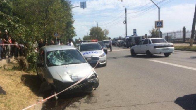 В Махачкале водитель «Лады» насмерть сбил женщину