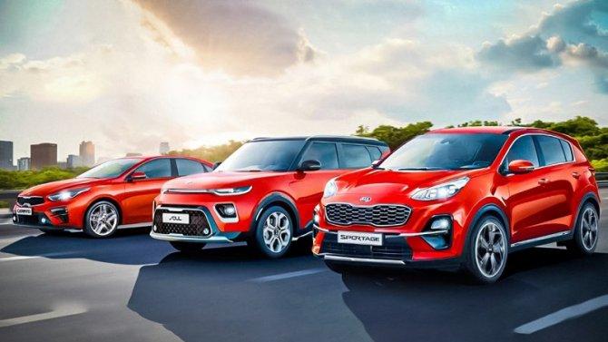 ВРоссии появились новые версии трёх моделей KIA