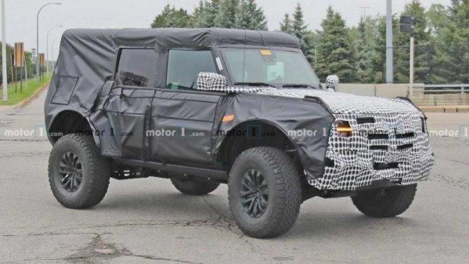 Начаты испытания Ford Bronco Raptor