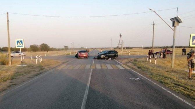 Женщина и ребенок пострадали в ДТП в Ростовской области