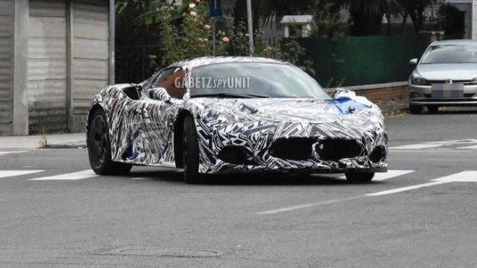 Maserati MC20: известны новые подробности одвигателе