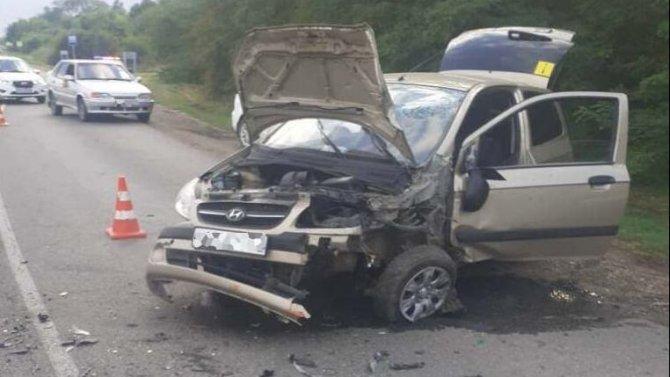 Женщина пострадала в ДТП в Динском районе