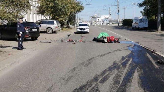Мотоциклист погиб в ДТП в Иркутске