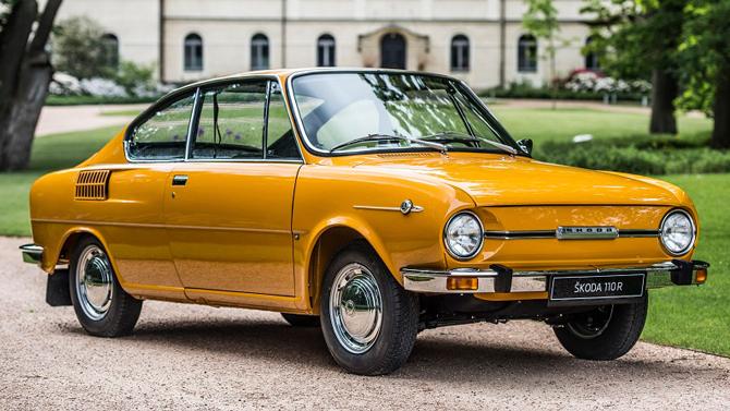 АСЦ Внуково представляет: 50 лет модели SKODA 110 R. Полвека назад SKODA представила свое легендарное спортивное купе.