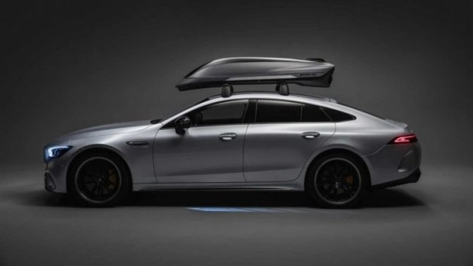 ВMercedes-AMG создан багажник спортивного дизайна