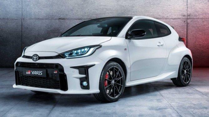 Начался выпуск «горячего» хэтчбека Toyota GR Yaris