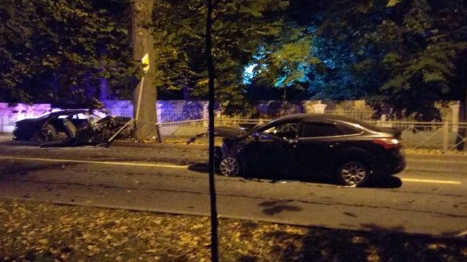 Четыре человека пострадали в ДТП в Пушкине
