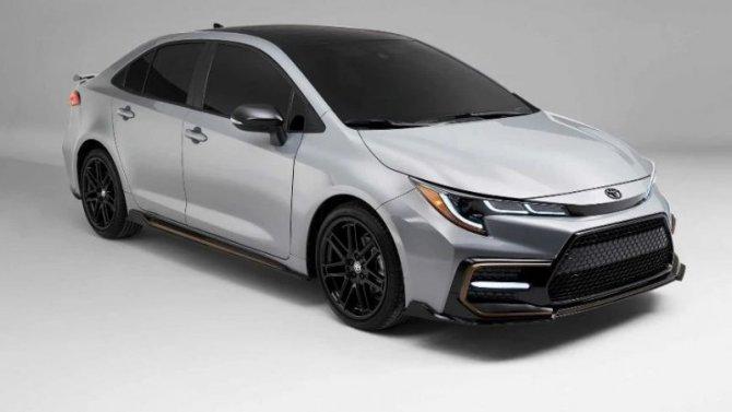 Toyota Corolla получила новое исполнение Apex Edition