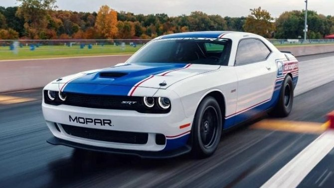 Dodge Challenger получил тюнинг-пакет для дрэг-рейзинга