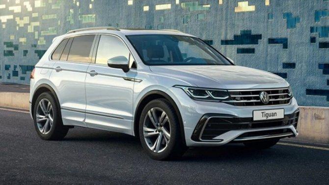 Известны российские комплектации рестайлингового Volkswagen Tiguan