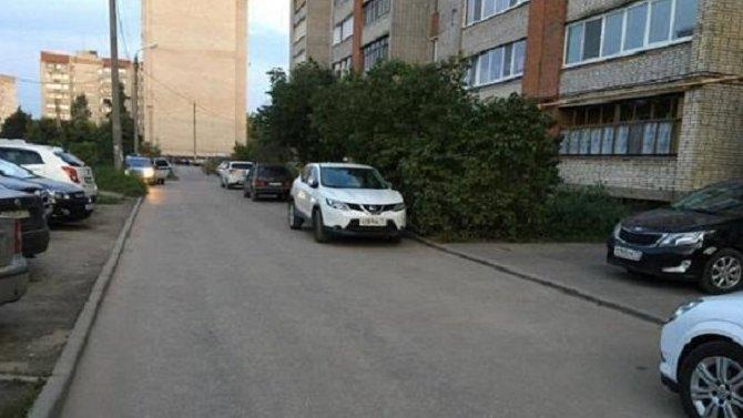 В Алексине иномарка сбила 7-летнюю девочку