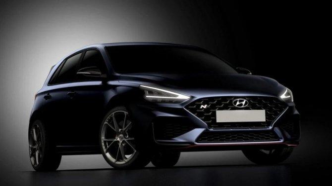 Опубликованы первые изображения обновлённого Hyundai i30 N