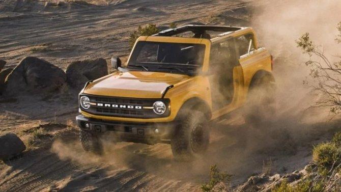 Ford Bronco получит механическую трансмиссию