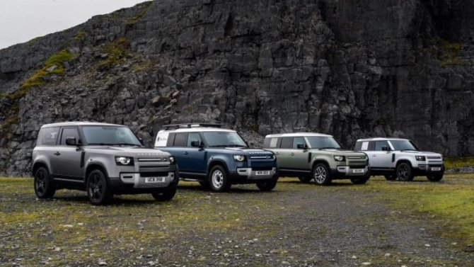 Известны рублёвые цены нового Land Rover Defender