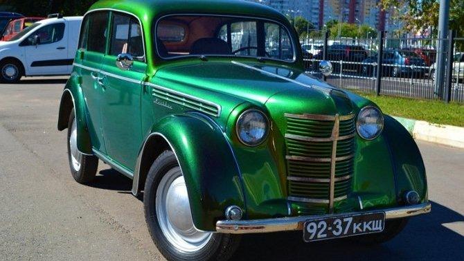 Москвич 400: особенности автомобиля и ремонта