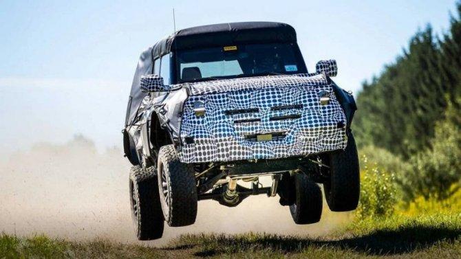 «Заряженный» Ford Bronco получит новое имя