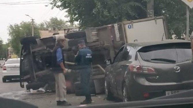 В ДТП в Астрахани пострадали пять человек