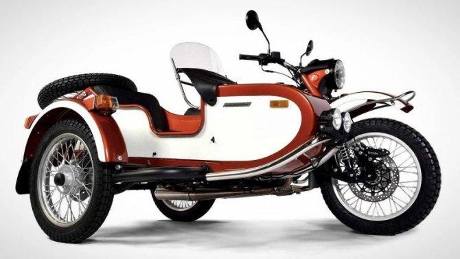 Мотоцикл «Урал» получил «выходное» исполнение