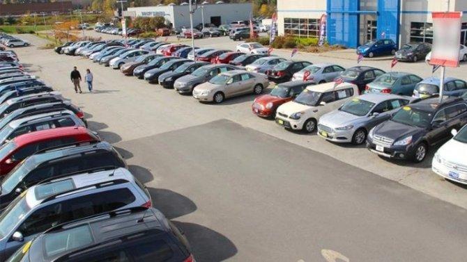 Кое-где вРоссии растут продажи подержанных автомобилей