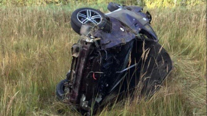 В Мордовии при опрокидывании «Лады» погиб водитель