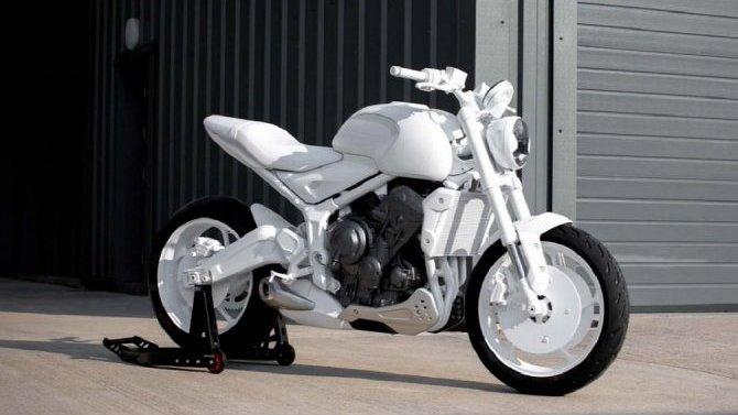 Винтернет выложили снимки возрождённого мотоцикла Triumph Trident