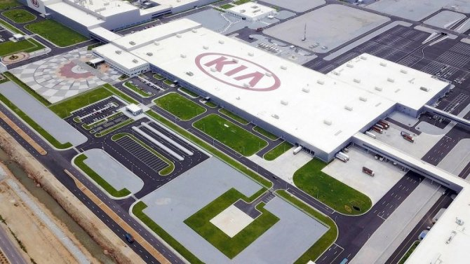 Фирма KIA остановила два своих завода