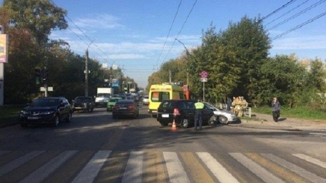 8-летний ребенок пострадал в ДТП в Кирове