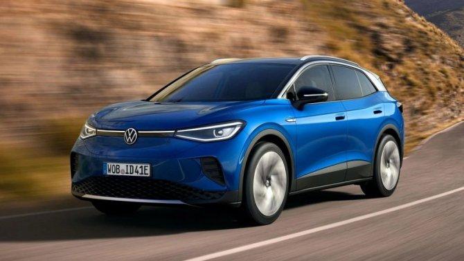 Состоялась презентация электромобиля VolkswagenID.4
