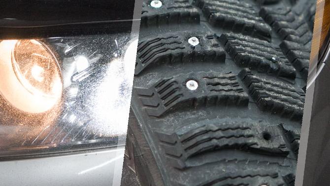 Новые поправки кПДД позволят штрафовать водителей занештатные ксеноновые лампы инеуместные шипы