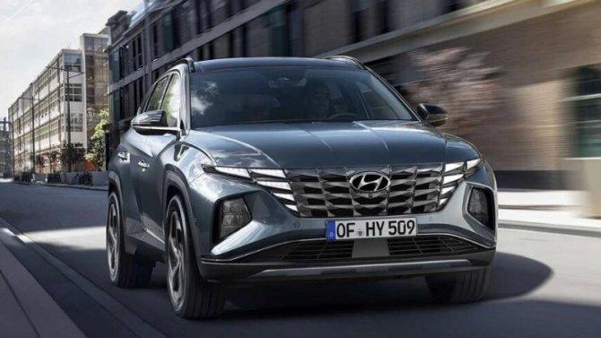 Представлен Hyundai Tucson нового поколения
