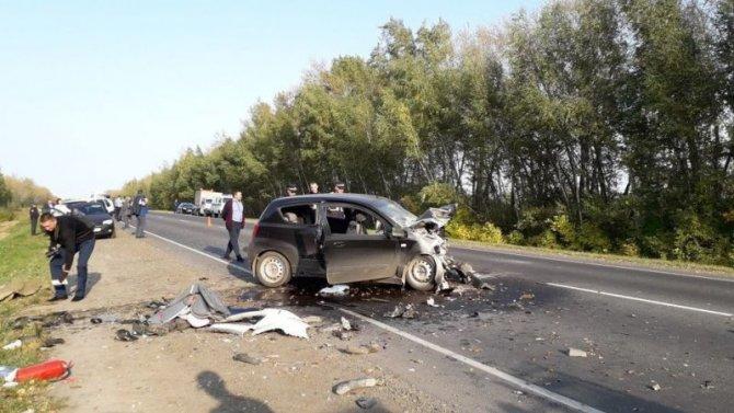 Двое детей и двое взрослых погибли в ДТП под Рязанью