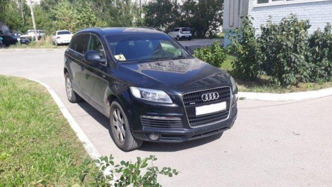 В Рязани Audi сбила 3-летнего ребенка