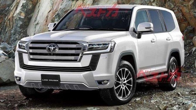 Toyota Land Cruiser 300: появились свежие новости
