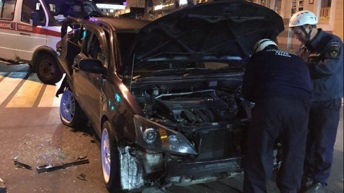 Три человека пострадали в ночном ДТП в Брянске