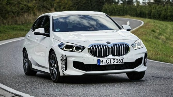 Хэтчбек BMW 1-Series стал «горячим»