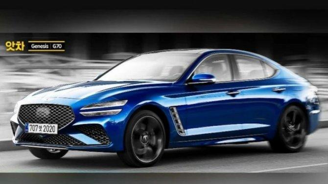 Обновлённый седан Genesis G70: что будет под капотом?