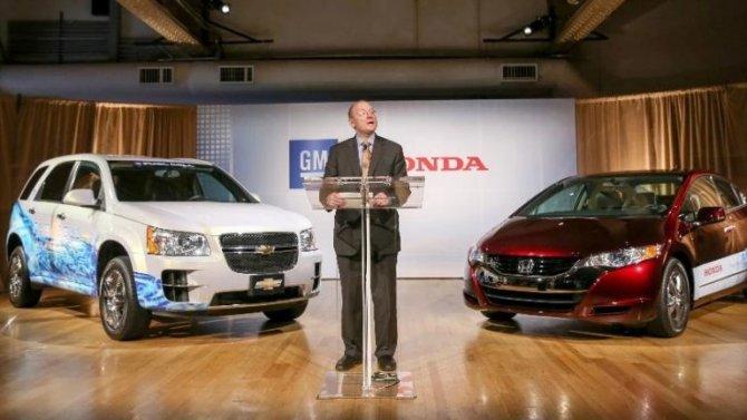 General Motors и Honda объявили о расширении сотрудничества