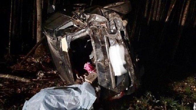 В ДТП в Карелии погиб водитель без прав