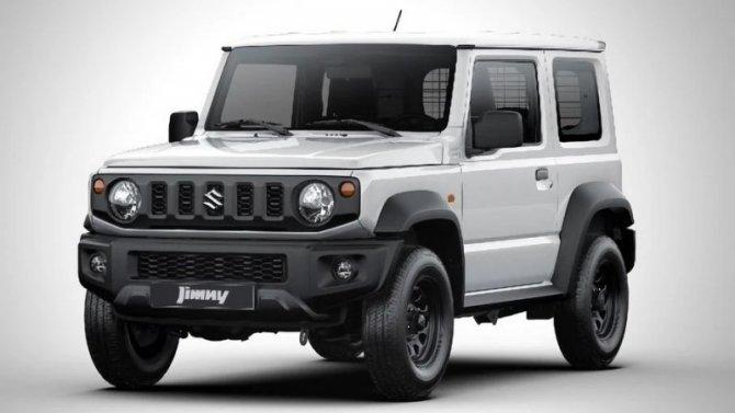 Suzuki Jimny возвращается вЕвропу